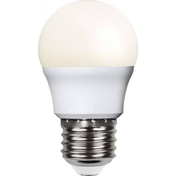 LED-Lampa Klot, Opal E27 3000K 470lm 5,5W(40W) 2-pack