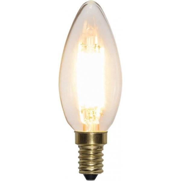LED-Lampa 3-Steg DIM Kron, E14 2100K 400lm 4W(40W)