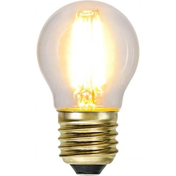 LED-Lampa 3-Steg DIM Klot, E27 2100K 400lm 4W(40W)