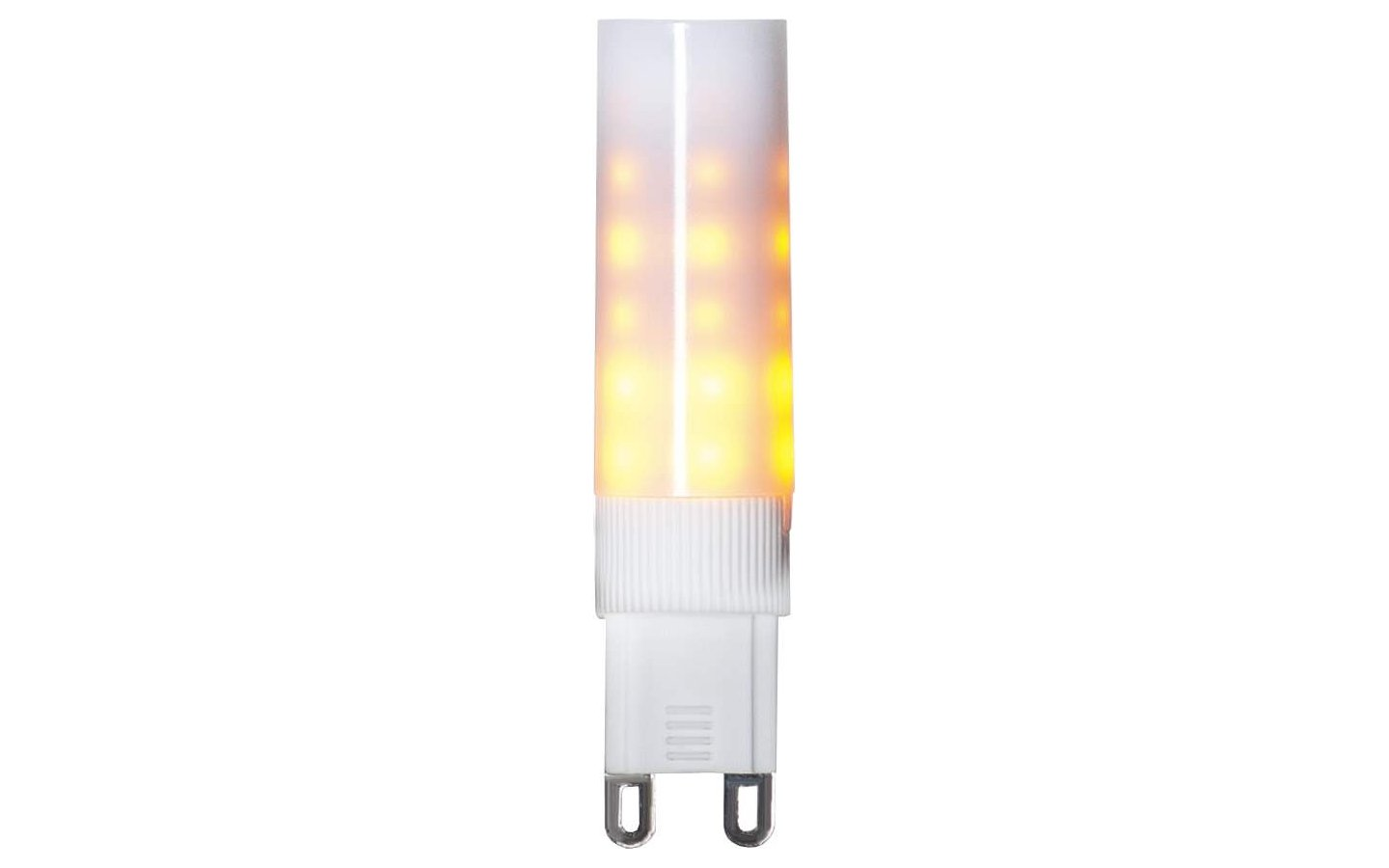 LED G9, Moving Flame 1200K 16lm 0,6-1,4W