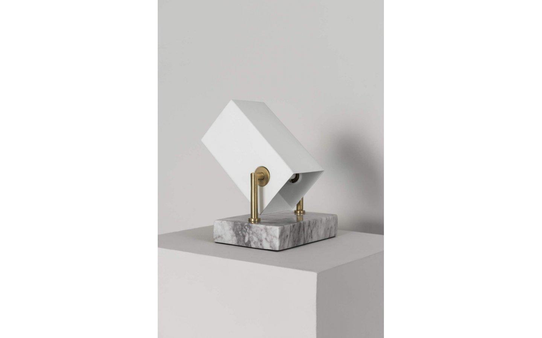 Box Bordslampa Vit