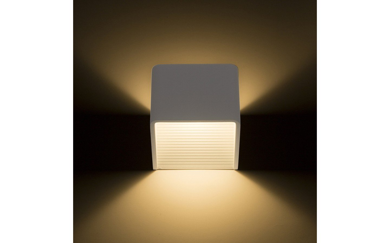 Köp Onyx Vägglampa Vit LED 5W 3000K från Rendl