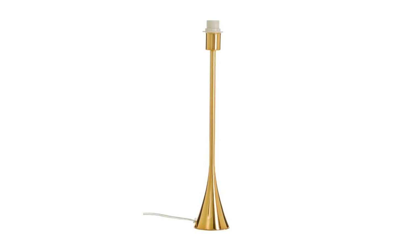 Spira Lampfot 43cm Guld
