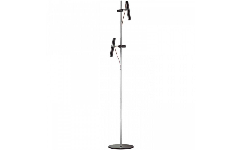 VIPER FL svart krom 230V LED 2x3W 60° 3000K