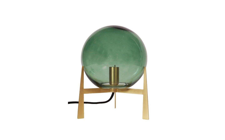Milla Bordslampa Guld/Grön