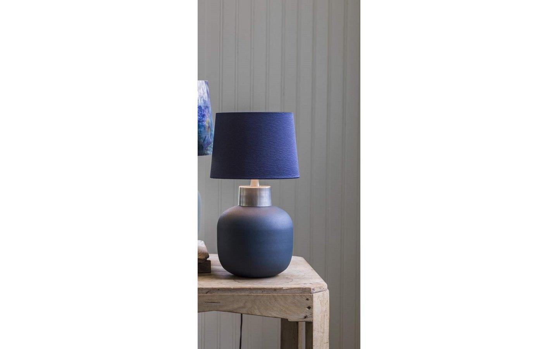 Rita Lampfot 34cm Mörkblå