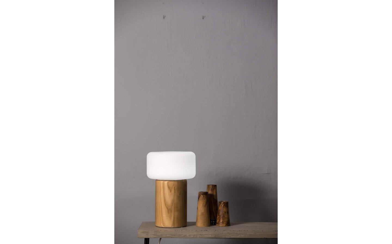 Oscar Bordslampa Ask/Opal 30cm