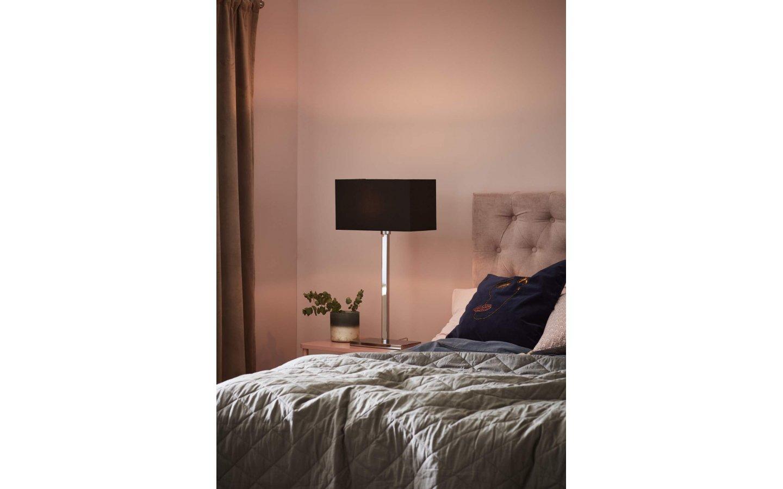 Savoy XL Bordslampa Svart/Krom