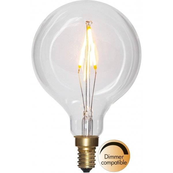 LED Lampa Glob 80mm, E14 2100K 100lm 1,5W(10W)
