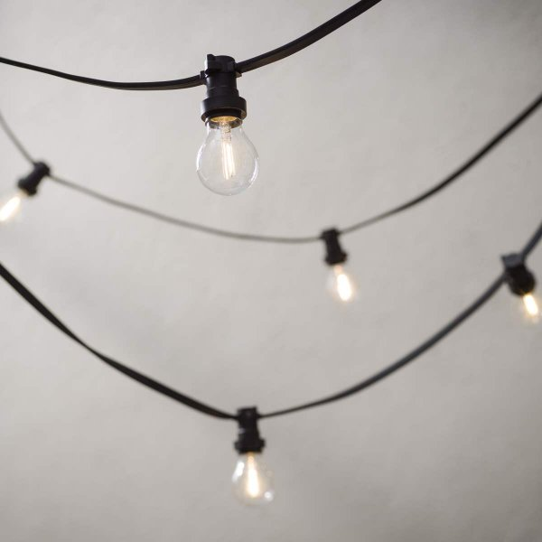 Köp LED Lampa Normal, Klar E27 2400K 70lm 1W (7W)