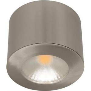 LED-Downlight 230V Puck, 3,5W, Silver, MD-48