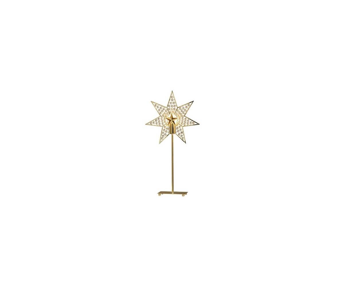 Gylling Julstjärna på fot Ljustema se