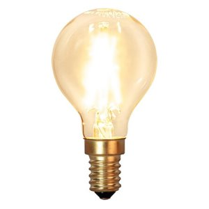Kolfilament Lyktlampa LED E14 2100K 120lm 2W