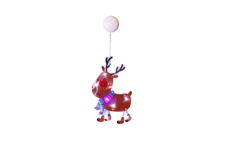 Batteridriven siluett med Rudolf