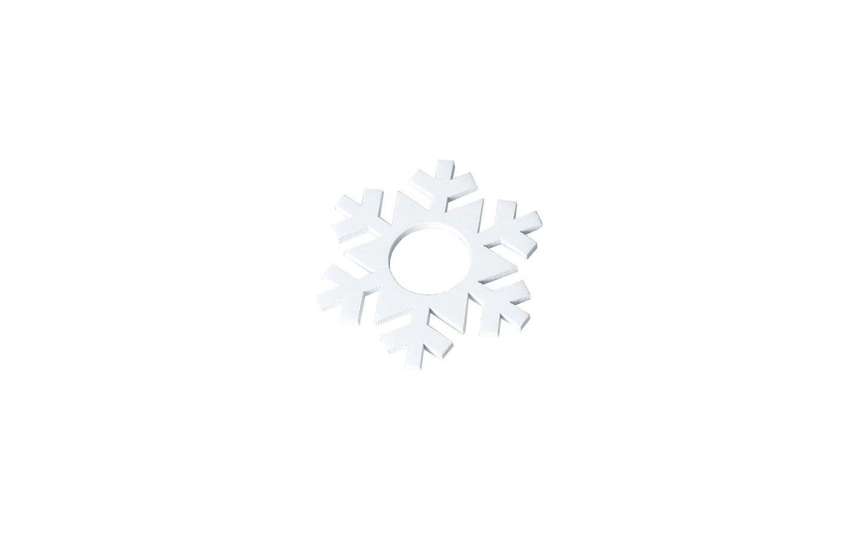 Snöflinga i trä