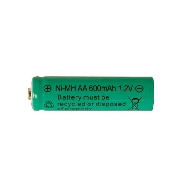 Uppladdningsbart AA-batteri, 1.2V 600mAh