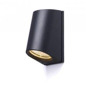ZAZA vägg antrasitgrå 230V/350mA LED 3.3W 36° IP65 3000K