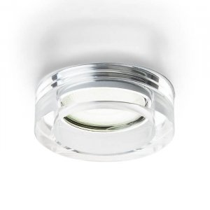 BIANCA rund infälld klarglas GU10 50W