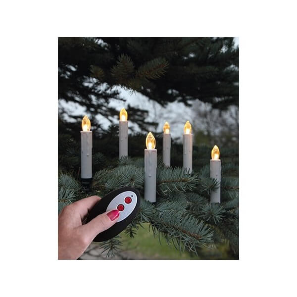 Julgransbelysning (Skaftlampor)