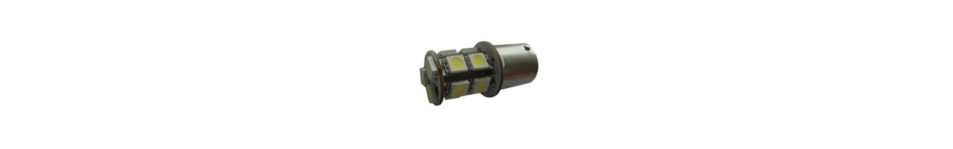 Lampor till bil - Ba15s, Ba9s, Bay15d & Ba15d mfl.